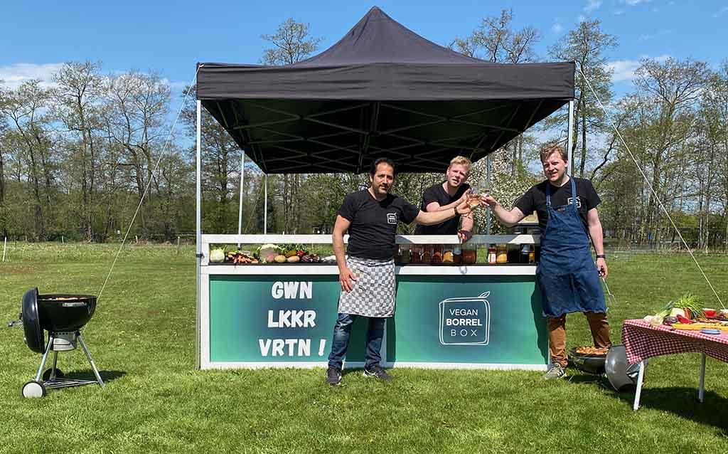 Vegan BBQ team Poost